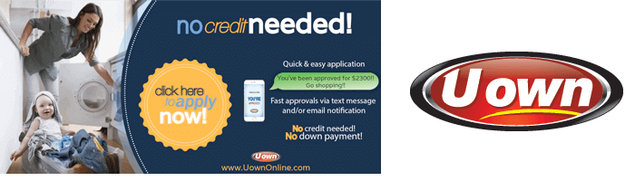 Special Financing Available through Uown