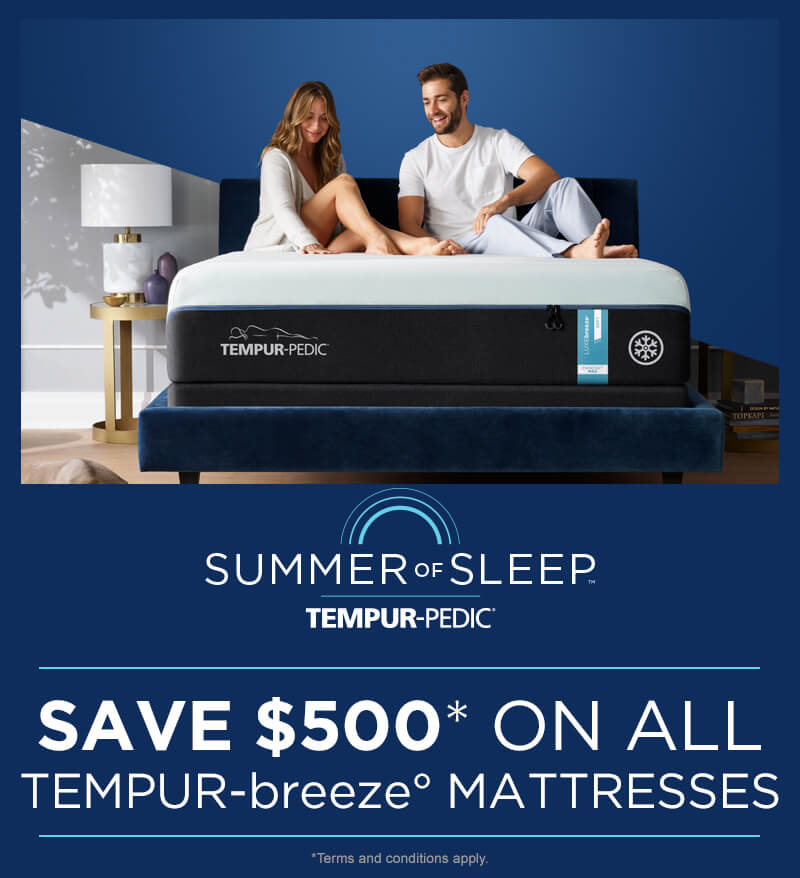 Tempur-Pedic Summer of Sleep